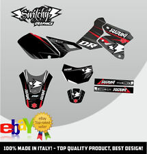 KIT ADESIVI GRAFICHE DROP D SUZUKI DR-Z 400  E S ENDURO DRZ DECALS DEKOR