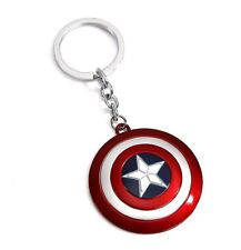 Marvel Avengers Captain America Shield Alloy Key Chains Keychain Keyfob Keyring