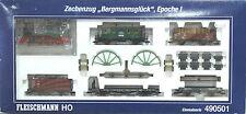 FLEISCHMANN 490501 convoglio merci con carichi per miniera   ep. I