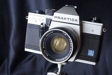 Praktica MTL 5 B 35mm screwm 42 SLR Film Camera Body Lens mamiya 50 f2