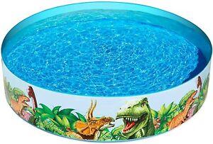 Bestway Fill'N Fun Kinder Planschbecken Dino Pool Swimming Pool 183 x 38 cm