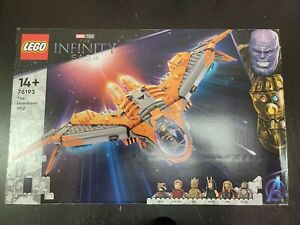 LEGO Marvel The Guardians' Ship 76193 - In-Hand ship now open box