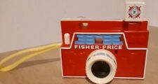 Fisher Price Changeable Picture Disc Camera Toy Retro Vintage Collectable 1968.