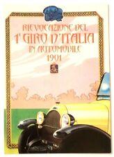 Cartolina Rievocazione Del 1° Giro D'Italia In Automobile 1901 Del 1989 Vete