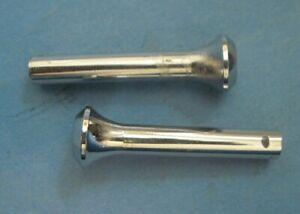 New old stock inside chrome door lock knobs 1963-1974 Chrysler Dodge Plymouth
