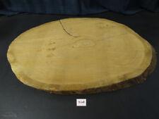 Eiche, Baumscheibe, massiv, Tischplatte, Baumstamm, ca. 73 x 52 x 5,5 cm