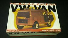 advent vw van vintage model car kit 1/25 custom bed bug complete w box decal wow