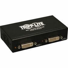 Tripp Lite 2-Port Dvi Single Link Video / Audio Splitter / Booster Dvif/2xF