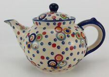 Bunzlauer Keramik Teekanne, für 1,3Liter Tee, (C017-AS38) U N I K A T / Modern