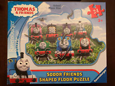 Thomas and Friends Sodor Friends Shaped Floor Puzzle 24 Piece 3'x2' Ravensburger