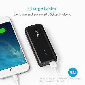 Anker PowerCore Lightest 5200mAh External Battery Power Bank for Smartphones