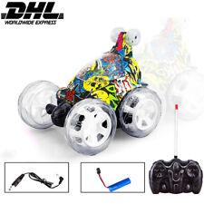 Ferngesteuertes Auto RC Stunt Auto Spielzeug Rennfahrzeug für Jungen Mädchen DHL