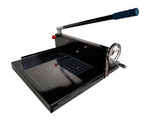 """Guillotine Paper Cutter Heavy Duty Table Top 12"""" Stack Paper Cutter"""