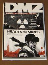 DMZ HEARTS AND MINDS TPB NM 1ST PRINT BRIAN WOOD BURCHIELLI WAR-TORN MANHATTAN