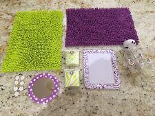 Locker Looks Lot: Chandlier, 2 Rugs, 2 Bins, Mirror, Dry Erase Board & 7 Magnets