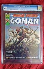 SAVAGE SWORD OF CONAN THE BARBARIAN #1 (CGC 9.6 NM) BUSCEMA VALLEJO Marvel 1974