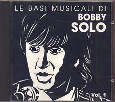 BOBBY SOLO - Le basi musicali vol. 1 - CD 1990 NEAR MINT CONDITION