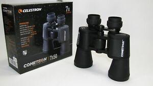 CELESTRON COMETRON Binocular.  7X50. # 71198. Black