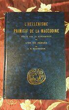 L' Hellenisme Primitif de la Macedoine Prouve par la Numismatique, Svoronos New