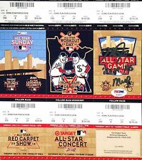 "Mike Trout Signed 2014 All-Star Game Ticket ""2014 AS MVP"" *Angels Baseball PSA"