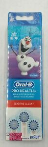 Oral-B 3 Count Pro Health Jr Replacement Brush Heads Disney Frozen