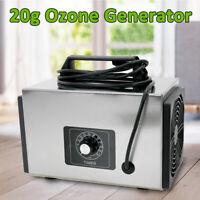 20000mg Commercial Ozone Generator Industrial Air Purifier Smoke Odor Ozonizer