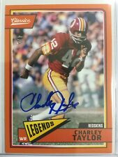 4/5 SSP Charley Taylor 2018 Classics Legends Auto Washington Redskins