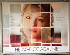 Cinema Poster: AGE OF ADALINE, THE 2015 (Adv. Quad) Blake Lively Harrison Ford