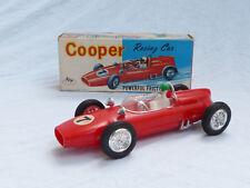 Cooper Racing Car 60er años juguetes en OVP 15cm bpp hong kong Plastic Zee Toy