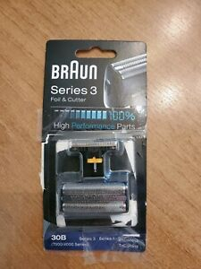 NEW Genuine BRAUN Series 3 Replacement Foil + Cutter