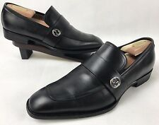 033ab9737ef Gucci  Broadwick  Black Loafer  695 Sz ...