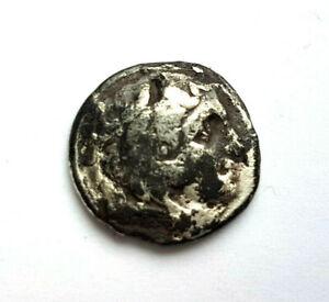 circa.300 B.C Ancient Greece MACEDON - ALEXANDER III Silver Drachma Coin