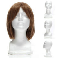 Male Female Styrofoam Mannequin Foam Head Model Wig Glasses Hat Display Stand