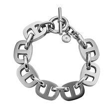 MICHAEL KORS Maritime Silver-Tone Toggle Bracelet mkj3982040 MSRP $125