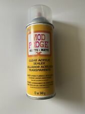 Mod Podge Clear Sealer Matte 12 Oz