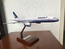 Britannia Airways Boeing 757 Mahogany hand crafted model