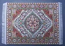 Escala 1:12 25cm X 17.5cm alfombra turca de tejido muñeca casa miniatura Alfombra P34L