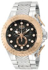 New Mens invicta 12938 Pro Diver Chronograph Black Dial Rosetone Bezel Watch