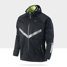 Nike Men's Vapor 5 World Record Running Jacket XXL Black And Volt 465389-010
