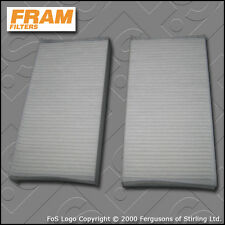 FRAM CABIN FILTER PAIR (2 FILTERS) for HONDA CIVIC (EP3) TYPE-R (2001-2005)
