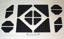Lego Black Triangular Wedge Plates 8 x 8, 4 x 4 10213
