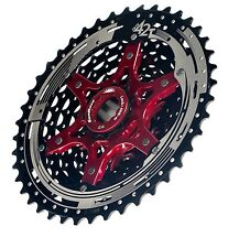 Sunrace MX8 11-42T  DH/FR/XC MTB Bicycle Bike Cassette Black NIB