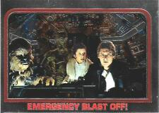 1999 Topps Star Wars Chrome Archives #37 Emergency Blast Off! > Han Solo > Leia