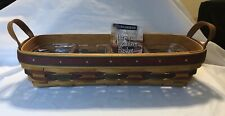 1997 Longaberger Father'S Day Personal Organizer Basket Combo With Protector