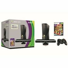 Microsoft Xbox 360 S 250GB System Kinect Bundle Very Good 0Z