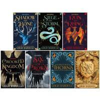 Grisha Series 7 Books Collection Set By Leigh Bardugo Shadow & Bone King of Scar