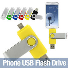 Android Phone OTG Rotation 32G USB Pen Flash Drives Memory Stick for Samsung HTC