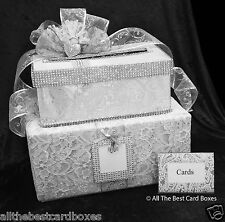 Fabric Wedding Card Boxes Wishing Wells eBay