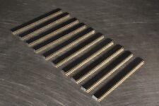 10 Pcs 40-Pin 2.54MM Straight Female Header Tin Square Breadboard Headers USA