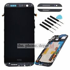 LCD Touch Screen Digitizer Display Assembly Frame For HTC ONE M8 831C Grey Black